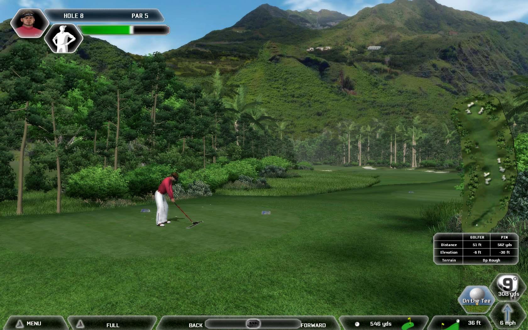 Tiger Woods Pga Tour 2008 Pictures Of Mauna Kea Hawaii