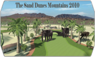 The Sand Dunes Mountains 2010 logo