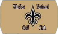 Who Dat National GC logo