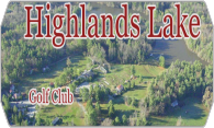 Highlands Lake Golf Club logo