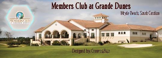 Members Club at Grande Dunes logo