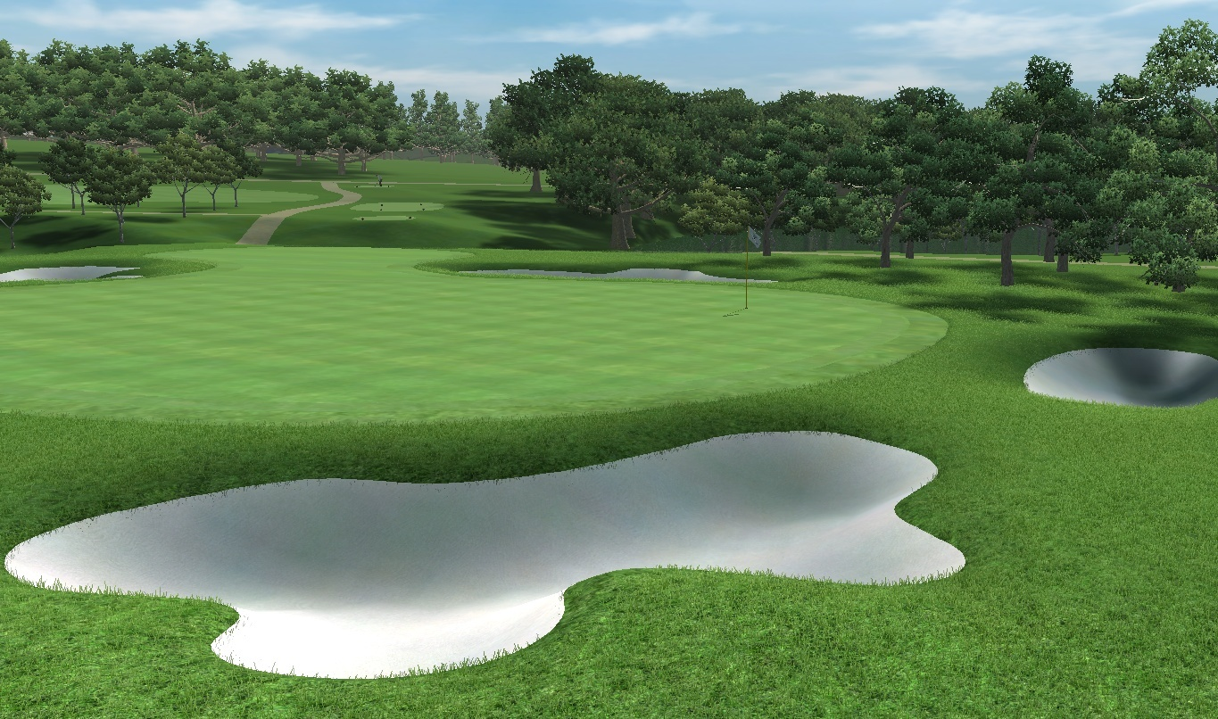 Picture of Denton Park Golf Club - click to view original size
