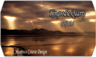 Kingoodie Quarry Golf Club logo