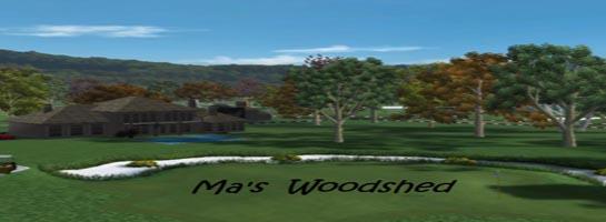 Ma`s Woodshed logo
