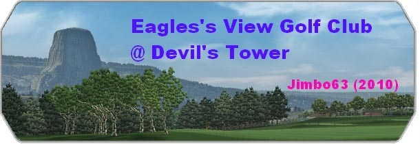 Eagle`s View GC @ Devil`s Tower logo