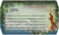 Olde Cypress logo