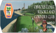 Obvious Coast Resort and Country Club logo