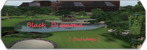 Black Diamond Golf Club ( Bulldogs ) logo