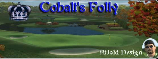 Cobalt`s Folly by JJHold logo