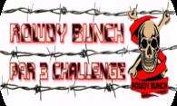 Rowdy Bunch Par 3 Challenge logo