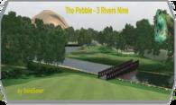 The Pebble - 3 Rivers Nine logo