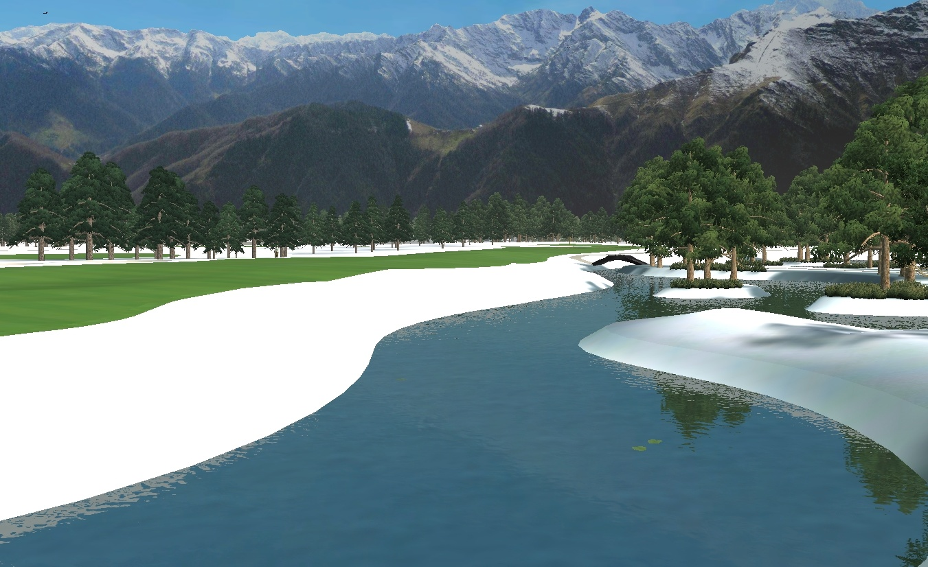 Picture of Fontana Winter Course - click to view original size
