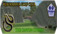 Blackadder G.C. The Canyon Course logo