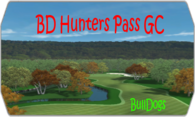 BD Hunters Pass GC logo