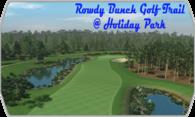 Rowdy Bunch Golf Trail @ Holiday Park logo
