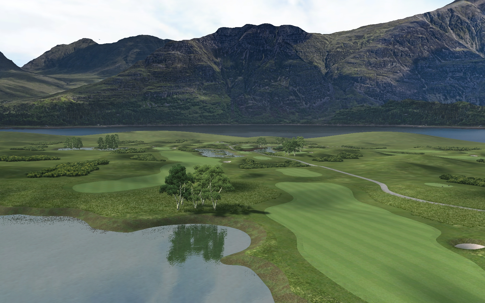 Picture of Queensway Valley - The Old Course - click to view original size