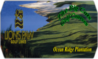 Lions Paw Golf Links logo