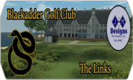 Blackadder G.C. The Links Course logo