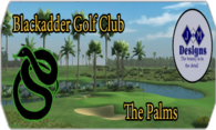Blackadder G.C. The Palms Course logo