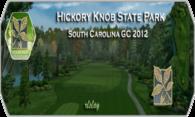 Hickory Knob State Park GC 2012 logo