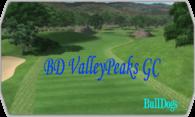 BD Valley Peaks GC logo