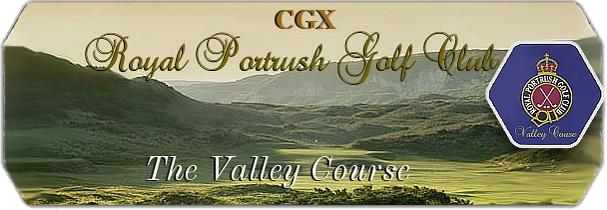 CGX Royal Portrush GC The Valley Links logo