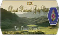 CGX Royal Portrush GC The Valley Links logo