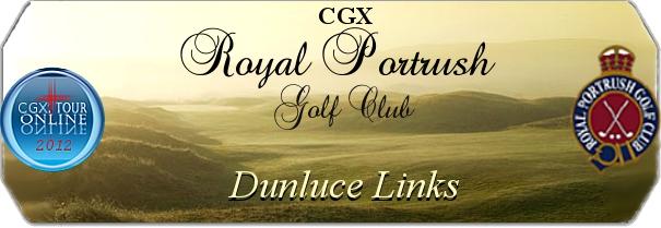 CGX Royal Portrush GC Dunluce Links logo