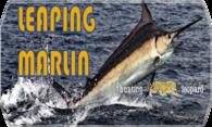 Leaping Marlin (V2) logo