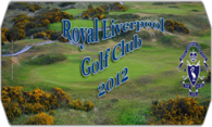 Royal Liverpool Golf Club 2012 logo