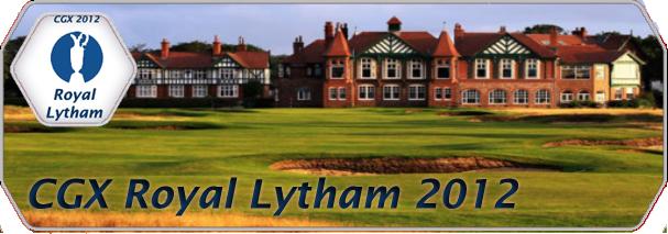 CGX Royal Lytham The Open 2012 logo