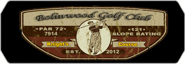 Bolinwood- Knight`s Course logo