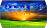 G4F Sunset Ridge GC logo