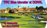 TPC Blue Monster at Doral 2013 logo