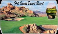 Hot Sands Desert Resort logo