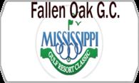 Fallen Oak Golf Club logo