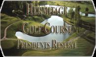 Hermitage Presidents Reserve GC logo
