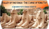 Valley Of The Kings The Curse Of King Tut logo