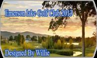 Emerson Lake Golf Club 2013 logo