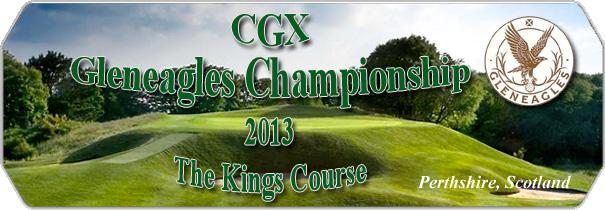 CGX Gleneagles Kings Course logo