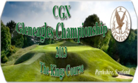 CGX Gleneagles Kings Course logo