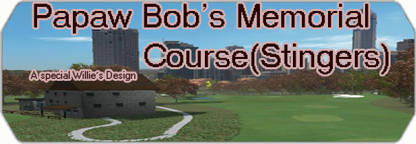 Papaw Bob`s Memorial Course (Stingers) logo