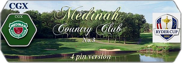 CGX Medinah Country Club No.3 logo