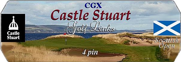 CGX Castle Stuart Links logo