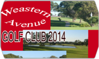 Western Avenue Golf Course 2014  logo