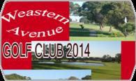 Western Avenue Golf Course 2014  logo