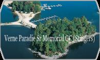 Verne Paradie Sr Memorial GC (Stingers) logo