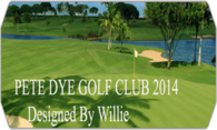 Pete Dye Golf Club V2 (Stingers) logo