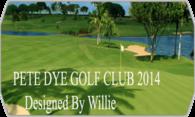 Pete Dye Golf Club V2 (Stingers) logo