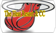 The Heat Resort & CC logo